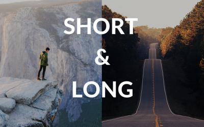 Wat bedoelen we met korte zoekwoorden (short tail keywords) en lange zoekwoorden (long tail keywords) bij SEO?